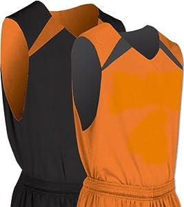 Pro-Plus Reversible Basketball Jerseys Medium Orange : Everything Else