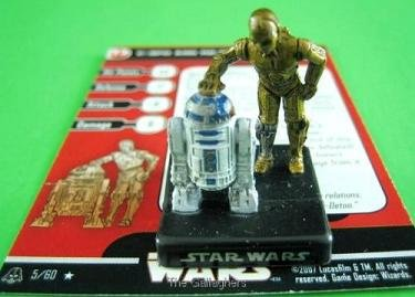 STAR WARS MINIATURES A&E C-3PO & R2-D2 5/60 RARE - Buy STAR WARS MINIATURES A&E C-3PO & R2-D2 5/60 RARE - Purchase STAR WARS MINIATURES A&E C-3PO & R2-D2 5/60 RARE (ALLIANCE & EMPIRE, Toys & Games,Categories,Toy Figures & Playsets,Miniature Figures)