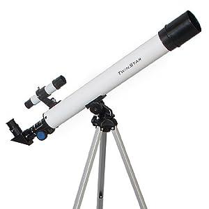TwinStar AstroMark 50mm Refractor Telescope Kids Pak Bundle