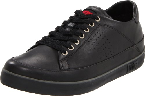 FitFlop FF Supertone Mens All Black (Leather) - Mens (11 uk)