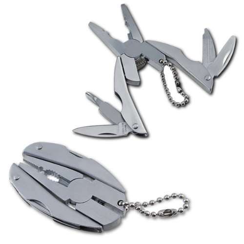 Micro 5-in-1 Keychain Multi-Tool – Lifetime Warranty