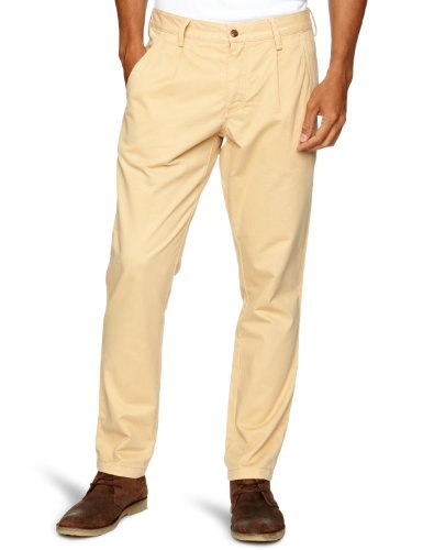 Farah Vintage The Albany Twill Relaxed Men's Trousers Dust W32 INxL32 IN