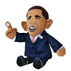 Big Mouth Toys The Pootin' Tootin' President (Farting Obama Doll)