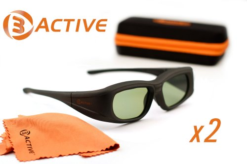 PANASONIC-Compatible 3ACTIVE® 3D Glasses. For