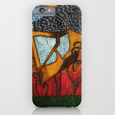 Society6 - Alice'S Tea House Iphone 6 Case By Rose Voutsas