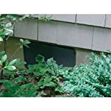 Crawl Space Vent Cover - Black