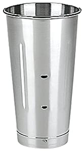 Waring Commercial CAC20 Stainless Steel Drink Mixers Malt Cup, 28-Ounce by Waring