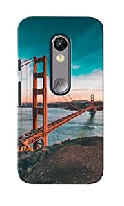 CimaCase Golden Gate Designer 3D Printed Case Cover For Motorola Moto G Turbo Edition