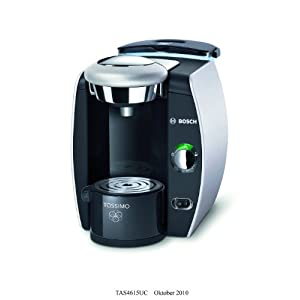 Tassimo Coffee Maker For Office : Bosch TAS4615UC8 Tassimo T46 Home Brewing System (Silver): Amazon.ca: Home & Kitchen