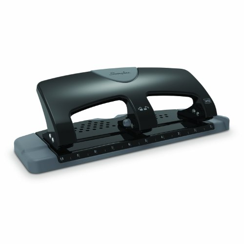 Swingline 3-Hole Punch, SmartTouch, Low Force, 20 Sheet Punch Capacity (A7074133)