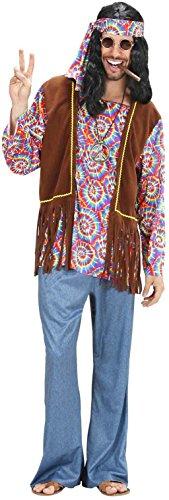 Widmann 75402 - Costume da Uomo Hippie Psichedelica, in Taglia M
