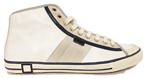 D.A.T.E. uomo TENDER HIGH NAPPA WHITE (43)