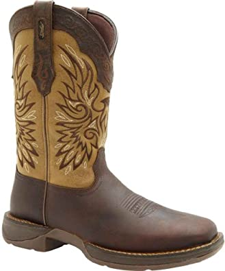 Buy Durango Mens Wingman Western Leather Boot by Durango