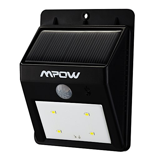 Mpow® Solar Powerd Wireless LED Security Motion