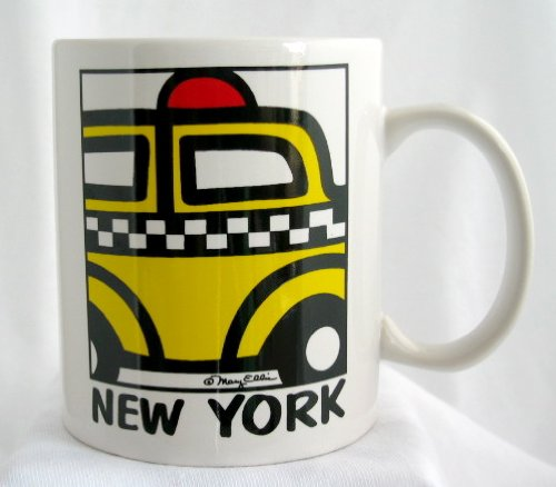 New York Mug Coffee Cup With Ny Taxi Cab