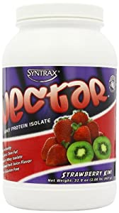SynTrax Nectar Whey Protein Isolate, Strawberry Kiwi , 2.0 lbs (907 g)