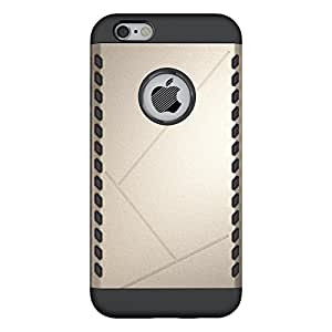 Cruzerlite Cell Phone Case for iPhone 6S - Retail Packaging - Gold