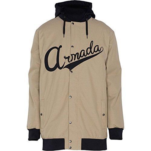 Armada Men's Harlaut Insulated Jacket (Khaki, X-Large) by Armada (Harlaut Insulated Jacket compare prices)