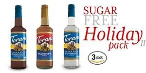 Torani Sugar Free Holidayii Pack