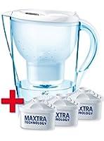 Brita 040147 Pack de démarrage Marella Cool Blanc 2,4 L