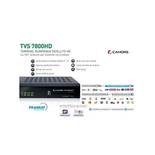 VISIOSAT TVS7800FRANSAT - TNT FRANSAT HD