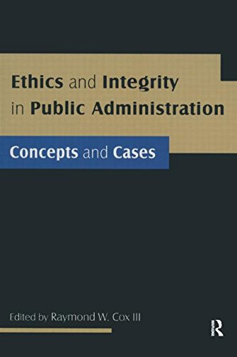 public administration and ethics Public sector ethics is a broad topic because values and morals vary between cultures public administration ethics does cover relations among politicians.