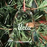 UCLA Bruins Bell Shaped Crystal Christmas Ornament at Amazon.com