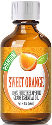 Sweet Orange 100% Pure, Best Therapeutic Grade - 60ml - Citrus sinensis