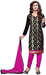 Shyam Suits Women's Cotton Unstitched Salwar Suit (LUCKY046)