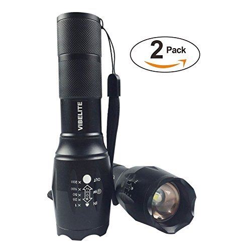 Vibelite-High-Powered-Tactical-Flashlight-Ultra-Bright-LED-Handheld-Flashlight-Portable-Outdoor-Water-Resistant-Torch-with-Adjustable-Focus-and-5-Light-Modes-for-Camping-Hiking-etc