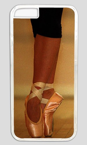 Delicate Ballet Girl Leg Diy Hard Shell Transparent Iphone 6 Plus Case Best Designed Protection By Custom Service