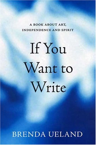 If You Want to Write A Book about Art  Independence and Spirit