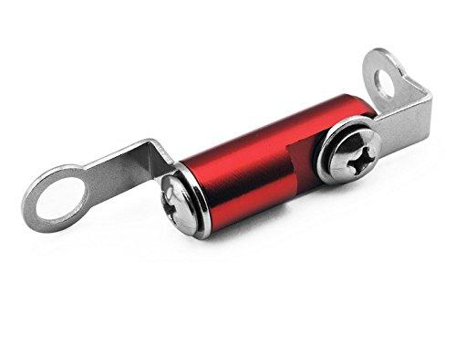 Rot Motorradrennen CNC Billet Halterung Bremsflüssigkeitsbehälter Vorderbremse Kupplung Hauptbremszylinder Halterung Universal fit für Yamaha SUPERTENERE 2012