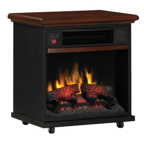 DuraFlame PowerHeat Infrared Quartz LED Portable Fireplace Heater - 20IF300GRA photo B00G3NK68O.jpg