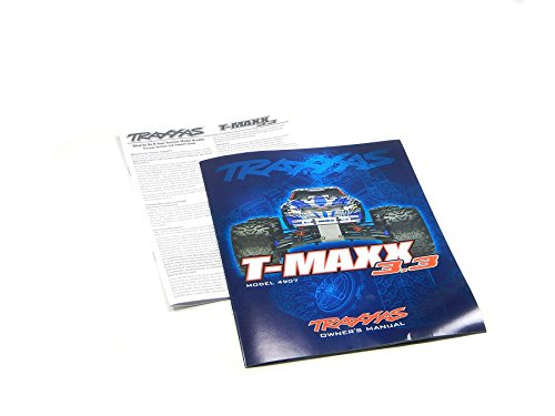 Traxxas T-Maxx TMaxx Owners Manual Exploded View Parts List 4907
