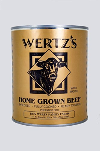 Wertz's Home Grown Premium Canned Beef, 28 oz (Canned Bbq Beef compare prices)