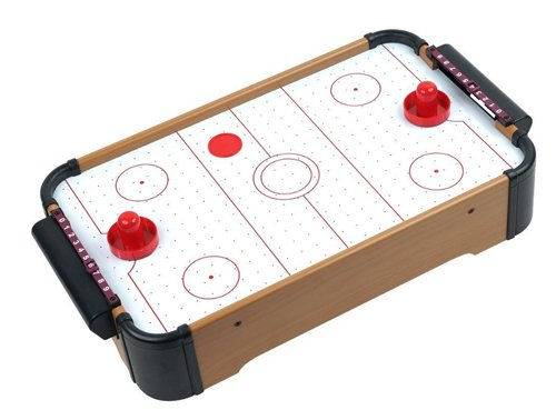Discover Bargain 21 Mini Air Hockey Tabletop Game Set