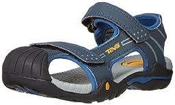 Teva Toachi 2 C Water Sandal (Toddler/Little Kid),Navy,8 M US Toddler