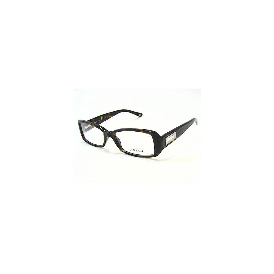 4f8b5560f5db VERSACE 3106 HAVANA 108 Optical Frame Eyeglasses 51x16 Shoes on ...