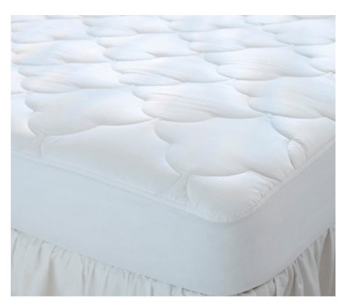 "Great Features Of Quilted Cot Size Waterproof Cotton Top Camp Mattress Pad, 30"" X 75"" X 10..."