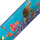 Blue Mountain Wallcoverings DS026240 Finding Nemo Self-Stick Wall Border, 5-Inch by 15-Foot
