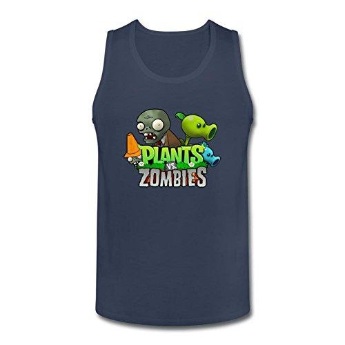 Niceda Men's Plants vs. Zombies Tank Top T Shirt