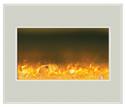 Amantii Fire & Ice Series Built In Zero Clearance Electric Fireplace, 30-Inch