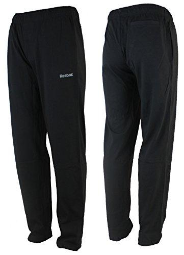 Reebok -  Pantaloni sportivi  - Uomo nero XS