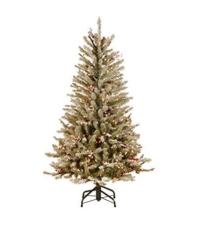 National Tree Company 4.5 ' Dunhill Fir Slim Hinged Tree
