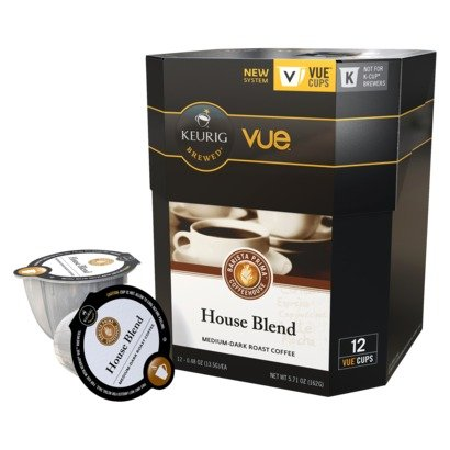 Barista Prima House Blend Coffee Keurig Vue Portion Pack, 72 count