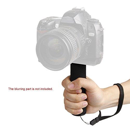 """Andoer® 1/4 """"Schraube Schwamm Griff Halter Griff Stabilisator für Canon Nikon Sony Digital-Videokamera Camcorder"""