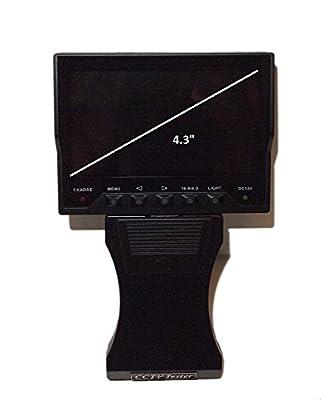"Evertech 4.3"" TFT Color LCD CCTV Video Audio Security Surveillance Camera Tester"