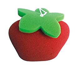 Panache Bath Sponge Apple, Kids Bathing Accessories, Bath Toys.
