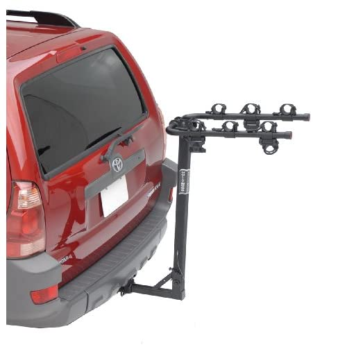 Hollywood Racks HR6500 Traveler 3 Bike Hitch Mount Rack (1.25 and 2 Inch Receiver)
